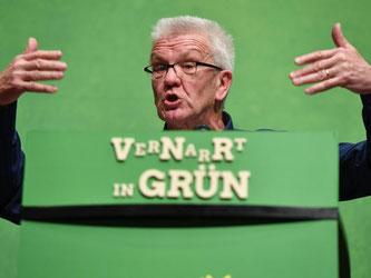 Baden-Württembergs Ministerpräsident Winfried Kretschmann (Grüne). Foto: Felix Kästle/Archiv