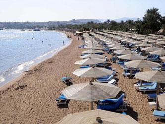 Auch in den Touristengebieten wie Scharm el Scheich sollen Urlauber vorsichtig sein. Foto: Namir Galal/Almasry Alyoum/dpa