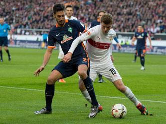 VfB Stuttgart - Werder Bremen, Spielszene. Foto: Daniel Maurer/Archiv