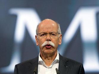 Der Vorstandsvorsitzende der Daimler AG, Dieter Zetsche. Foto: Soeren Stache/Archiv
