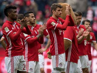 Die Bayern konnten gegen Mainz das CL-Aus gegen Real noch nicht verarbeiten. Foto: Sven Hoppe