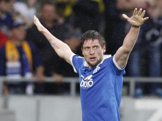 Jewhen Selesnjow (M.) erzielte das 1:0 für die Gastgeber. ROMAN PILIPEY Foto: Roman Pilipey