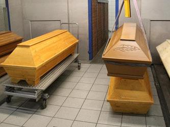 Der Bestatter hatte Angehörige Verstorbener betrogen. Foto: B. Wüstneck/Symbol