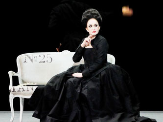 Marcia Haydée auf der Bühne. Foto: Stuttgarter Ballett/Archiv