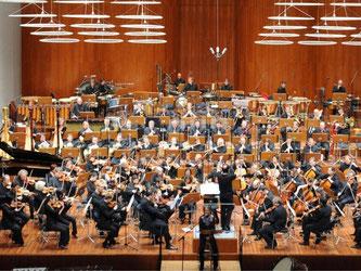 Das Sinfonieorchester des Südwestrundfunks. Foto: Patrick Seeger/Archiv