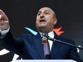 Der türkische Außenminister Mevlüt Cavusoglu. Foto: Rainer Jensen