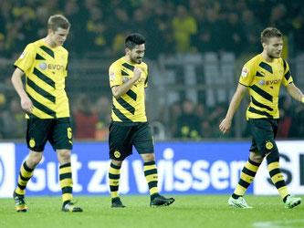 Der BVB tritt auf der Stelle. Das 2:2 gegen Wolfsburg ist für den Vizemeister zu wenig. Foto: Jonas Güttler