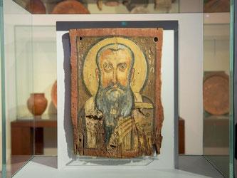 Die Ikone «Apa Abraham» im Bode-Museum. Foto: Felix Zahn
