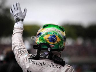 Lewis Hamilton will den Rückstand auf Nico Rosberg verkürzen. Foto: Fernando Bizerra