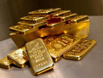 Nach dem Brexit-Votum flüchten Anleger in als sicher geltende Häfen wie Gold. Foto: Sven Hoppe
