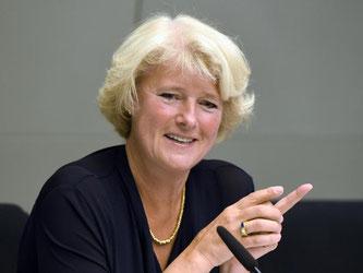 Monika Grütters spricht. Foto: Soeren Stache/Archiv