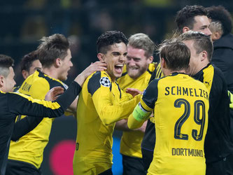 Borussia Dortmund feierte einen souveränen 4:0-Erfolg. Foto: Guido Kirchner