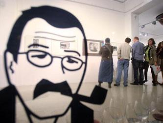Eine Günter-Grass-Ausstellung in Danzig. Piotr Wittman Foto: Piotr Wittman