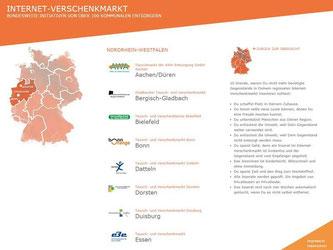 Entrümpeln kann man mit Hilfe desInternet-Verschenktmarktes. Foto: Screenshot internet-verschenkmarkt.de
