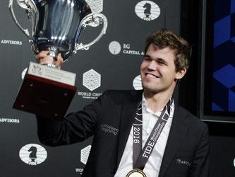 Magnus Carlsen hat seinen WM-Titeö verteidigt. Foto: Justin Lane