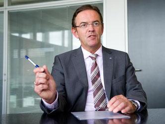 Der Vorstandsvorsitzende der Dürr AG, Ralf Dieter. Foto: Inga Kjer