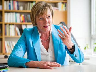 Die Fraktionsvorsitzende der baden-württembergischen Grünen, Edith Sitzmann. Foto: W. Kastl/Archiv