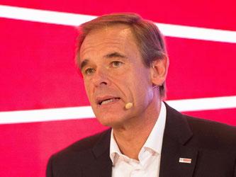 «Ein Verlust des Diesels (im Verkehr) hätte erhebliche Auswirkungen auf die Beschäftigung bei Bosch», warnte Bosch-Chef Denner. Foto: Franziska Kraufmann