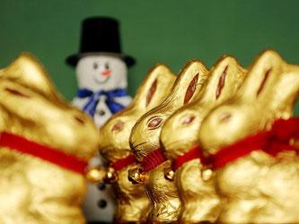 Auch wenn die Leckereien teuer bleiben: Das Schokoladengeschäft zu Ostern übertrifft die Verkäufe in der Weihnachtszeit. Foto: Roland Weihrauch/dpa
