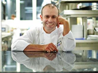 Andreas Krolik vom Frankfurter Restaurant «Lafleur» hat 18 von 20 Punkten geholt. Foto: Susann Prautsch