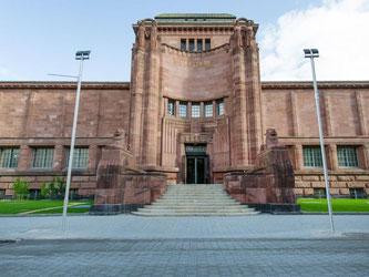 Die Mannheimer Kunsthalle ist zu sehen. Foto: Uwe Anspach/Archiv