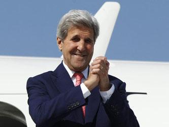 Kerry hat eine besondere Beziehung zu Deutschland. Foto: David Mdzinarishvili