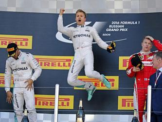 Nico Rosberg hat den Großen Preis von Russland gewonnen. Foto: Yuri Kochetkov