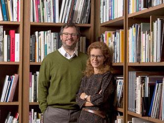 Die Schweizer Galeristen Iwan und Manuela Wirth. Foto: John Phillips/Getty
