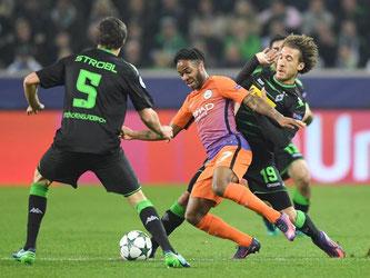 Borussia Mönchengladbach und Manchester City trennen sich mit 1:1. Foto: Marius Becker