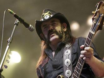 Lemmy Kilmister starb im Alter von 70 Jahren. Foto: Salvatore Di Nolfi