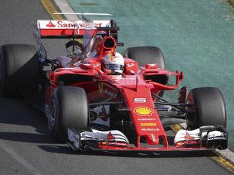 Ferrari-Pilot Sebastian Vettel gewann das erste Rennen der neuen Formel-1-Saison. Foto: Rick Rycroft