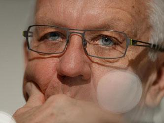 Ministerpräsident Kretschmann (Bündnis 90/Die Grünen). Foto: Felix Kästle