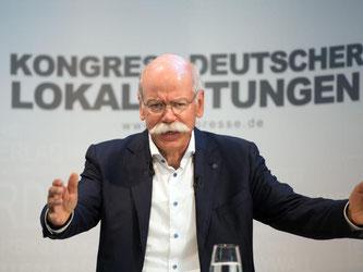 Dieter Zetsche. Foto: Soeren Stache/Archiv