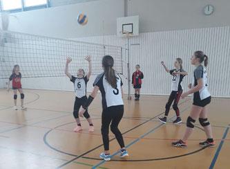 Unsere U14-Mädels beim Saisonabschluss in Waldkirchen
