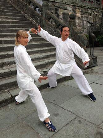 INMA BENITEZ. Profesora de Chi kung y Masaje Shiatsu. Cadiz