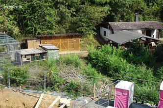 Baustelle Vereinsheim