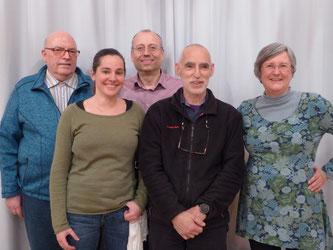 Der neue Vorstand des NABU Schwetzingen und Umgebung 2018