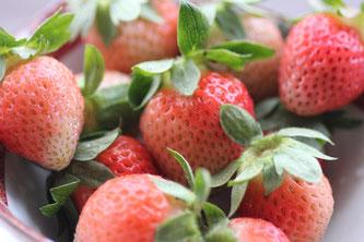 イチゴの桃薫