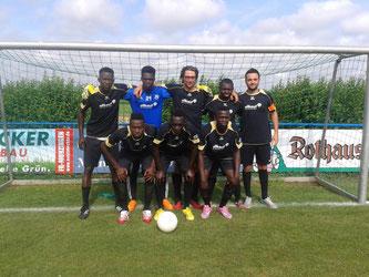 Die Sieger: Team Africa