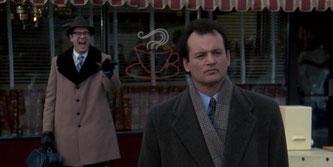 """Image tiré du film """"Un Jour sans fin"""" ou """" Groundhog Day"""" de Harold Ramsi (sortie de le 28 juillet 1993)"""