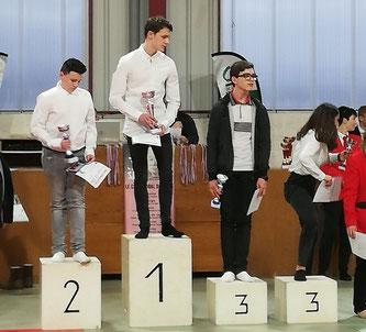 Martin BESSON vainqueur de la coupe régionale du jeune commissaire sportif !