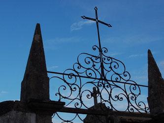 Eingangsto zum Friedhof