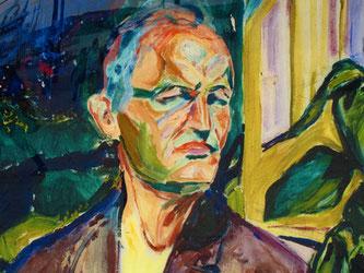 Selbst-Porträt von E. Munch