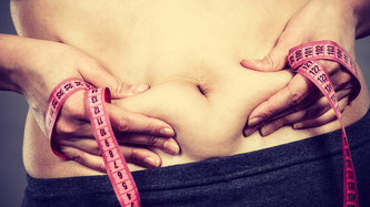 Übergewicht bei Hyperhidrose