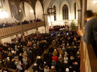 Nicolai Kirche am 19.01.2019 - Foto: ©Volker Bruckmann