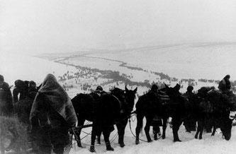 La tragica ed eroica ritirata nella steppa russa