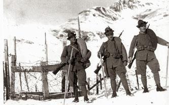 Alpini sul fronte dolomitico