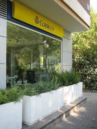 Jardineras prefabricadas piedra artificial hormigón prefabricado maceteros urbanos macetas grandes
