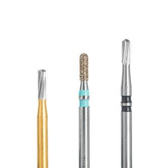 Kronentrenner für die Bearbeitung von Zahnkronen, Keramik, VMK, Zirkon