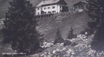 Spitzsteinhaus im Sommer 1928